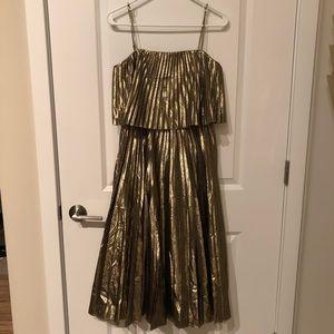 NEW!! Stunning Metallic J.Crew Dress 👗 🔥